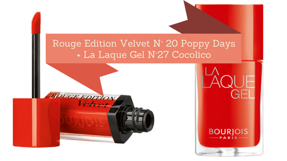 Pomadka Rouge Edition Velvet oraz lakier La Laque Gel