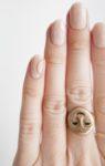 Manicure kawowy, jak go wykonać, krok 2