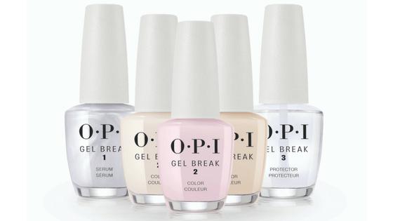 OPI Gel Break – 3 kroki do mocnych paznokci