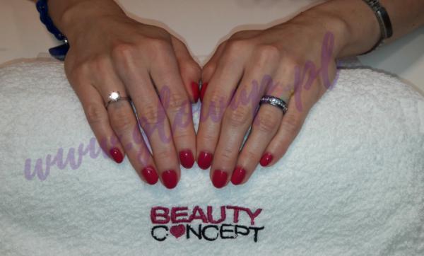OPI Gelcolor manicure w salonie Beauty Concept w Tarnowie