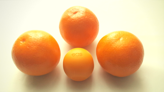eos Medicated Lip Balm – mandarynkowa ochrona