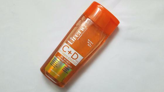 Vitamin Energy  C+Dpro – żel myjący od Lirene