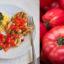 Grillowany filet z salsą pomidorową