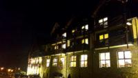 Hotel Wierchomla nocą