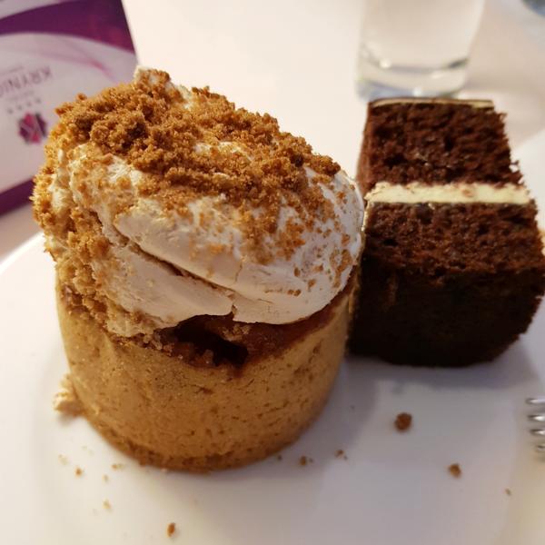 Hotel Krynica - ciastka z Restauracji Różana